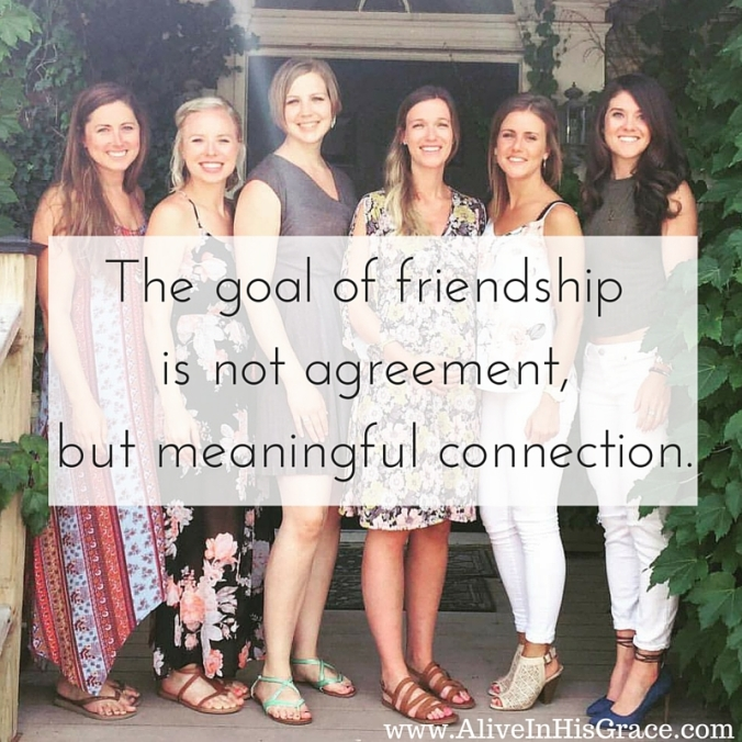 The goal of friendship